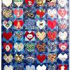 Quilt 11 in the series of CHD Awareness Quilts was completed in March 2002