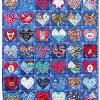 Quilt 12 in the series of CHD Awareness Quilts was completed in June 2002