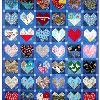 Quilt 17 in the series of CHD Awareness QUilts was completed in January 2003