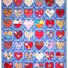 Quilt 19 in the series of CHD Awareness Quilts was completed in June 2003