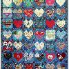 Quilt # 21 in the series of CHD Awareness Quilts