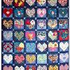 Quilt # 22 in the series of CHD Awareness Quilts