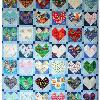 Quilt # 23 in the series of CHD Awareness Quilts