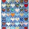 Quilt # 24 in the series of CHD Awareness Quilts