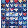 Quilt # 25 in the series of CHD Awareness Quilts