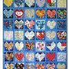 Quilt # 34 in the series of CHD Awareness Quilts