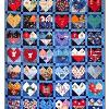 Quilt # 37 in the series of CHD Awareness Quilts