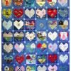 Quilt # 38 in the series of CHD Awareness Quilts
