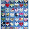 Quilt # 45 in the series of CHD Awareness Quilts
