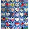 Quilt # 48 in the series of CHD Awareness Quilts