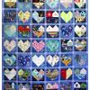 Quilt # 49 in the series of CHD Awareness Quilts