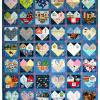 Quilt # 51in the series of CHD Awareness Quilts