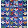 Quilt # 53 in the series of CHD Awareness Quilts