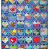 Quilt # 54 in the series of CHD Awareness Quilts