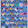 Quilt # 58 in the series of CHD Awareness Quilts