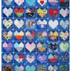 Quilt # 60 in the series of CHD Awareness Quilts