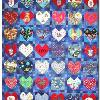 Quilt 9 in the series of CHD Awareness Quilts was completed in February 2002